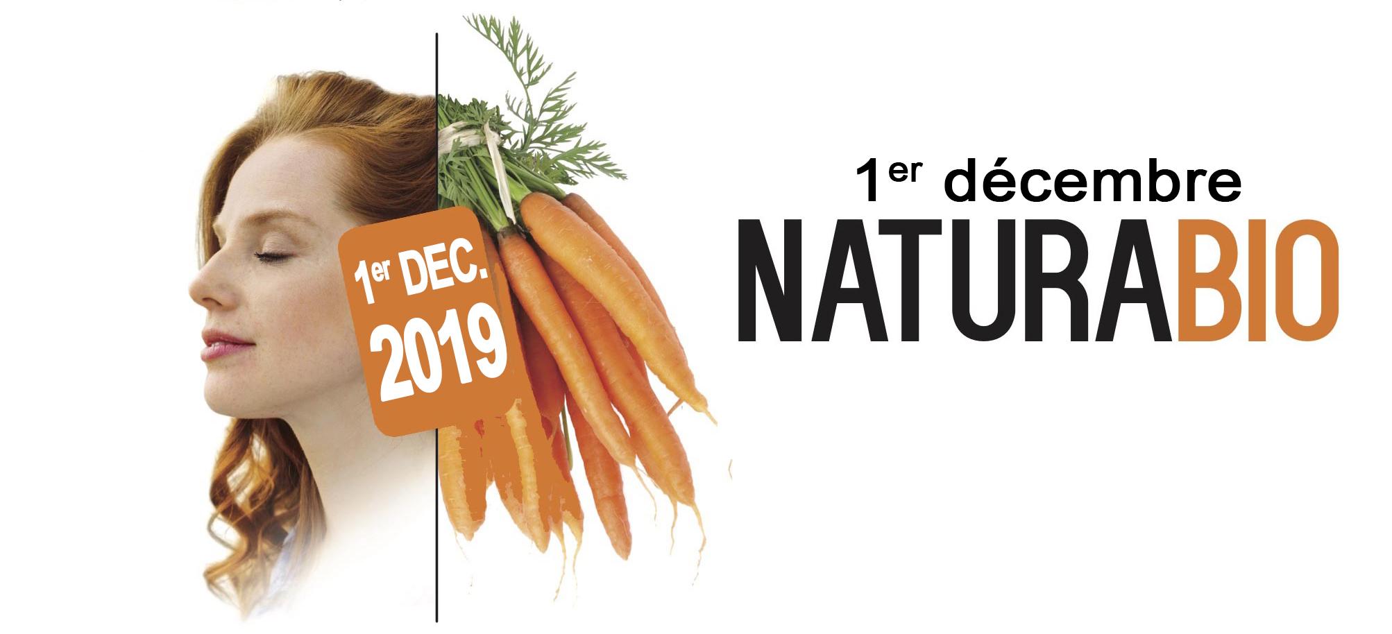 Salon Naturabio : Tout savoir sur la naturopathie le 1er décembre 2019